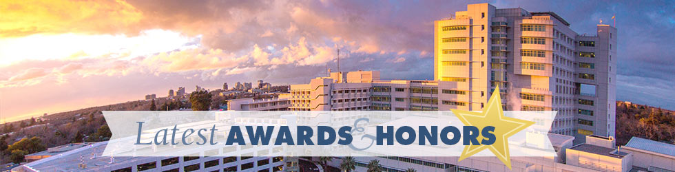 Awards and Honors, UC Davis Health System graphic