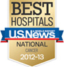 US News award logos: cancer