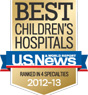 US News best children's hospitals badge