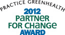 Partner for Change award logo