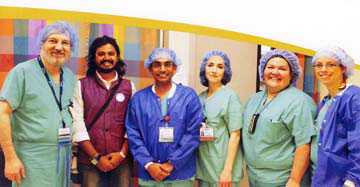 Pediatrics Surgery and Treatment Team