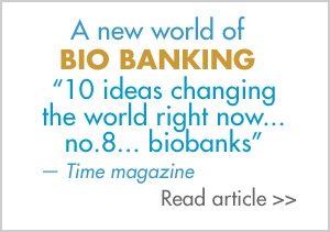 READ Time magazine's Biobanking article