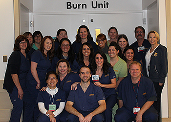 Members of the Burn Unit at UC Davis Medical Center
