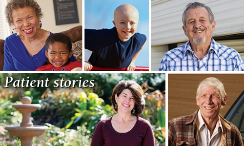Patient stories - cancer clinical trials © UC Regents