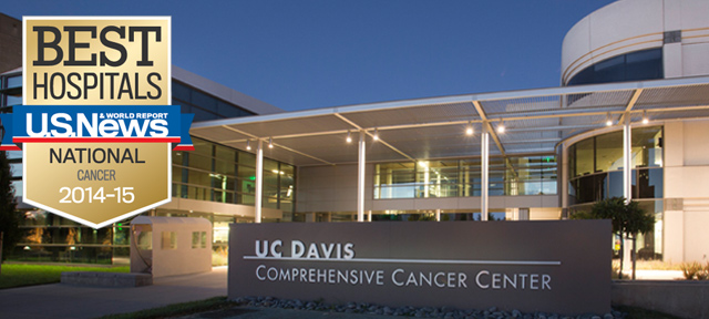 U.S. News & World Report ranks cancer center as best hospital for cancer in Sacramento