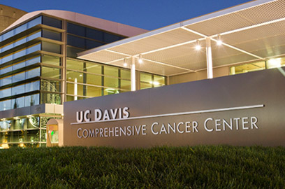 UC Davis Comprehensive Cancer Center building