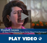 WATCH VIDEO - Meet Elizabeth Lacasia — lung cancer clinical trials participant