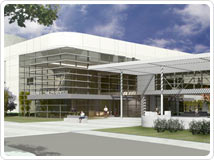 Cancer Center expansion - artist's rendering