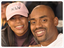 Keasha and Chris Draft, courtesy of teamdraft.org