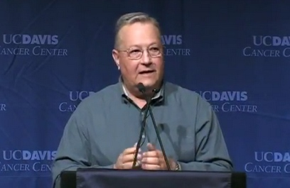 Rollie Swingle describes his experience with clinical trials at UC Davis Comprehensive Cancer Center.