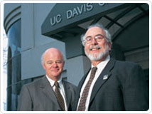 Ralph deVere White and Dennis Matthews © UC Regents