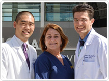 Endocrine surgical oncology team © UC Regents