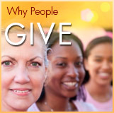 Why people give to UC Davis Comprehensive Cancer Center
