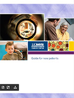 Guide for new patients, UC Davis Comprehensive Cancer Center