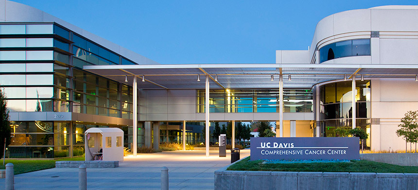 UC Davis Comprehensive Cancer Center exterior