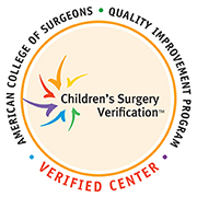 American College of Surgeon's Verified Center: Children's Surgery Verification