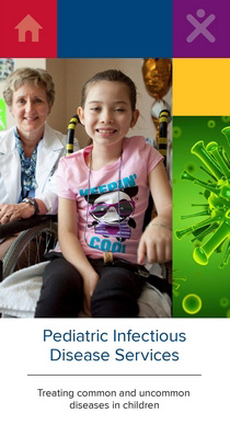 UC Davis Children's Hospital pediatric infectious diseases brochure