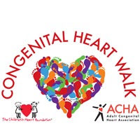 Photo of Congenital Heart Walk logo