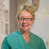 Fetal Care and Treatment study, Fetal and neonatal surgeon Diana Farmer