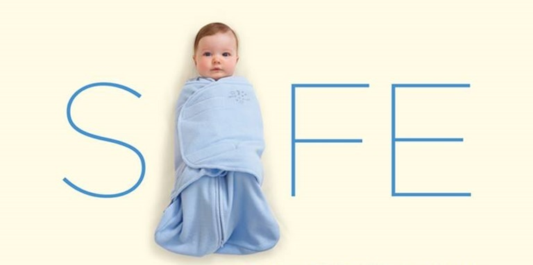 best service a9ee7 12a11 How to Safely Swaddle a Baby | UC Davis Children's Hospital