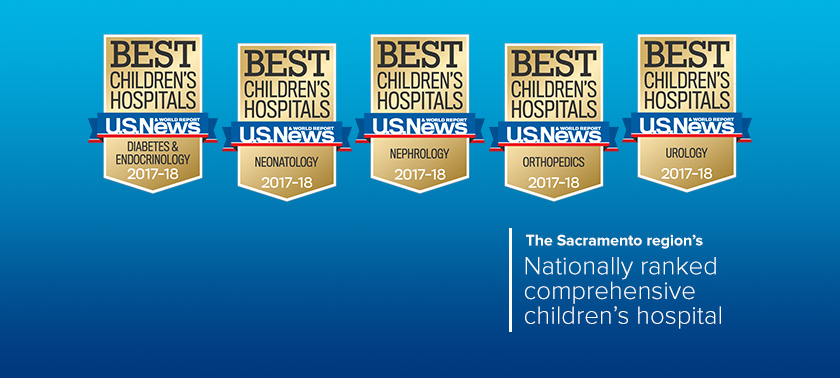 U.S. News and World Report Best Children's Hospital rankings