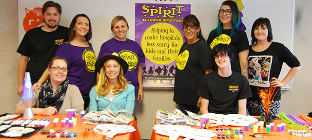 Spirit Halloween Superstores gives back to UC Davis Children's Hospital