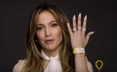 JLo supports Children's Miracle Network Hospitals