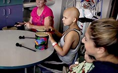 Music therapy weekdays at UC Davis Children's Hospital