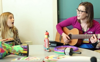 Music therapy for UC Davis Children's Hospital patients
