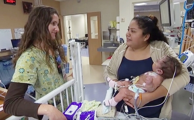 A look inside the Pediatric and Cardiac Intensive Care Unit at UC Davis