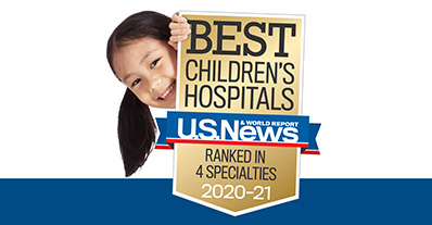Best Children's Hospitals award