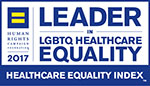 Leader in LGBTQ Healthcare Equality logo