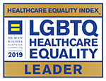 LGTBQ Healthcare Equality Index Leader logo