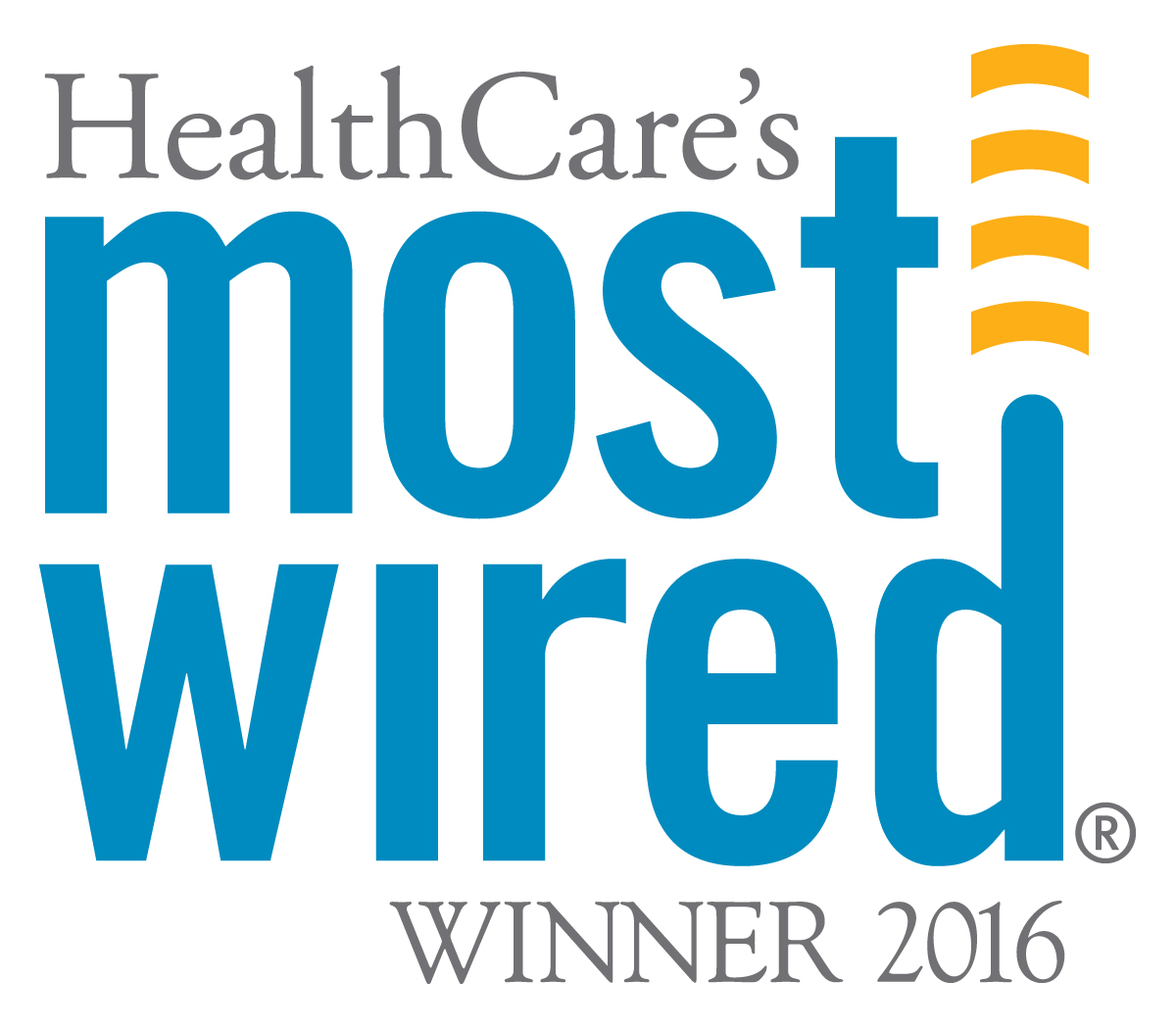 Health Care's Most Wired logo