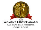 Women's Choice Award best hospital Comprehensive Cancer Center