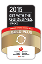 2015 Get With The Guidelines-Stroke Gold Plus Quality Achievement Award badge