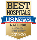 A U.S. News & World Report best hospital