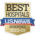 US News Best Hospital, Orthopaedics