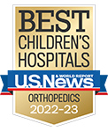 A US News Best Children's Hospital, Orthopaedics