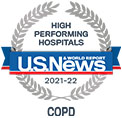 U.S. News & World Report High Performing Hospitals, COPD © U.S. News