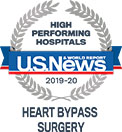 A U.S. News & World Report high performing hospitals, heart bypass surgery