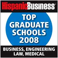 Hispanic Business Top Graduate Schools 2008 Logo
