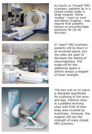 types of MRI scanners