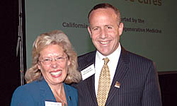 Dean Claire Pomeroy and Sen. Steinberg