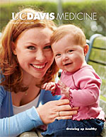 UC Davis Medicine - cover for Summer 2009 issue. ©2009 UC Regents