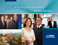 Cover of 2010 Annual Report © UC Regents