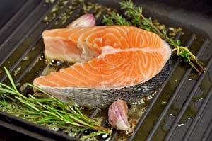 Salmon is a good source of vitamin D © iStockphoto