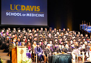 UC Davis School of Medicine graduation 2011 © UC Regents