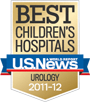 U.S. News Best Children's Hospital badge © US News