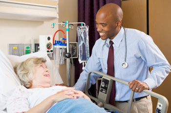Patient with doctor © iStockphoto